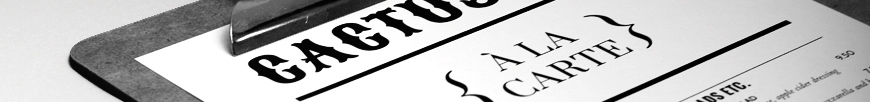 iMenuPro Menu Software menu