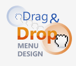 We invented Drag and Drop Menu Design