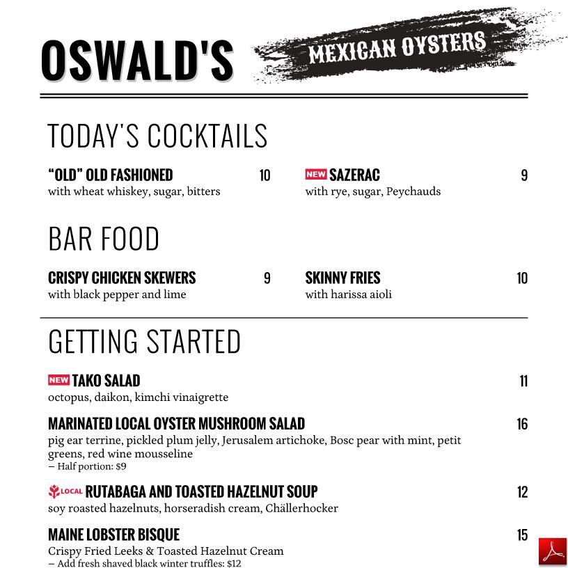 menu design PDF